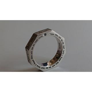 EPT(エプト)ブルーダイヤ×SV925・8角シルバーリング(リング(指輪))