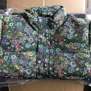 コンバース(CONVERSE)のgolfwang garden puffy jacket purple lily(ダウンジャケット)