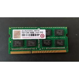 トランセンド(Transcend)のTranscend製ノート向けDDR3メモリ 8GB(PC周辺機器)
