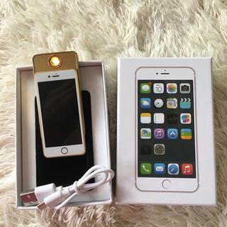 アイフォーン(iPhone)の電子ライター iPhone USB充電(タバコグッズ)