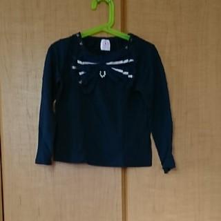 アクシーズファム(axes femme)の○アクシーズファムキッズ プルオーバー120 ネイビー(Tシャツ/カットソー)