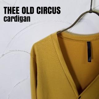 スリーオールドサーカス(THREE OLD CIRCUS)のTHEE OLD CIRCUS/ジオールドサーカス カーディガン(カーディガン)
