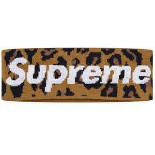 シュプリーム(Supreme)のSupreme/New Era Big Logo Headband 豹(その他)