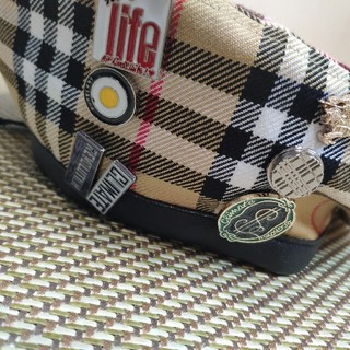 バーバリー(BURBERRY)のBURBERRY ベレー帽 Vivienne Westwood(ハンチング/ベレー帽)