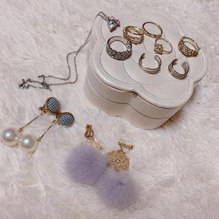 スリーコインズ(3COINS)のアクセサリー♡イヤリング♡指輪♡ネックレス♡まとめ売り(リング(指輪))
