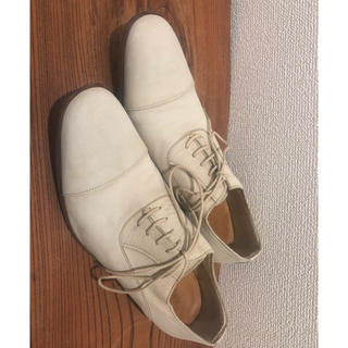 デザインワークス(DESIGNWORKS)の【値下げ売り切り】デザインワークス 革靴 ストレートチップ ベージュ 美品(ドレス/ビジネス)