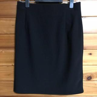 シマムラ(しまむら)のブラック ビジネス  スカート(スーツ)