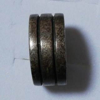 メンズ リング 巾広 渋い 9号(リング(指輪))