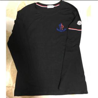 モンクレール(MONCLER)のモンクレール  黒色  ロンT(Tシャツ/カットソー(七分/長袖))