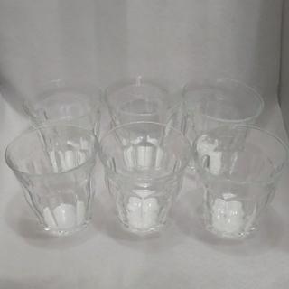 デュラレックス(DURALEX)のデュラレックス ピカルディ 6個セット 美品(グラス/カップ)