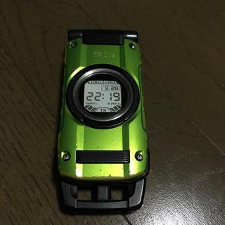 カシオ(CASIO)のCASIO G'one(携帯電話本体)