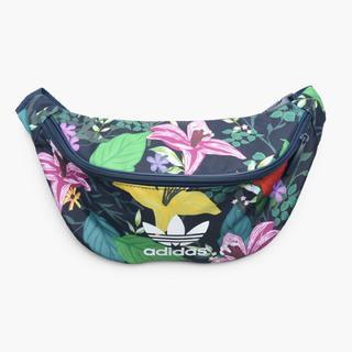 アディダス(adidas)のネイビー/花柄   ウエストバッグ(ボディバッグ/ウエストポーチ)