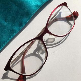 フォーナインズ(999.9)のフェイスフォント 美色 メガネ 女性用 レディース(サングラス/メガネ)