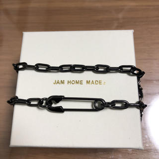 ジャムホームメイドアンドレディメイド(JAM HOME MADE & ready made)のジャム ホーム メイド/JAM HOME MADE 安全ピン ネックレス BK(ネックレス)