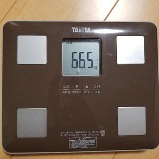 タニタ(TANITA)の体重計(体重計)