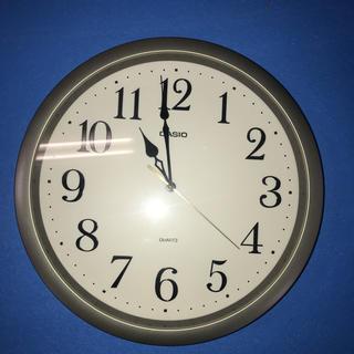 カシオ(CASIO)の壁掛け時計 時計(掛時計/柱時計)