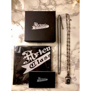 アルテミスクラシック(Artemis Classic)のArtemis Classic オニキスペンダント 非売品バンダナ付き(ネックレス)