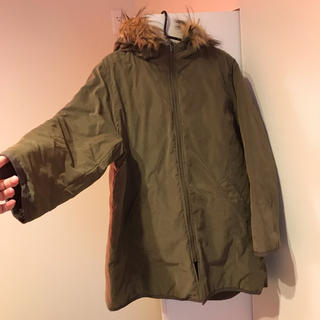 シマムラ(しまむら)の新品タグ付き リバーシブルミリタリーコート(ミリタリージャケット)