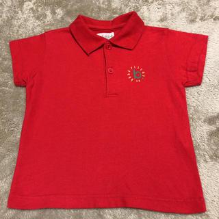 BeBe - bebe 赤色ポロシャツ