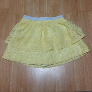 ジーユー(GU)の美品☆ GU レーススカート 110 (スカート)