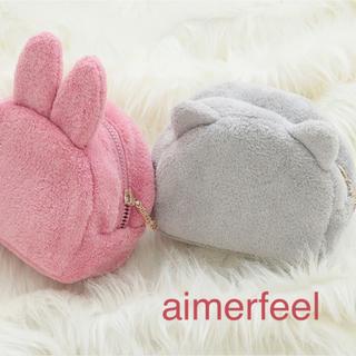 エメフィール(aimer feel)の新品未使用♡猫耳ポーチ(ポーチ)