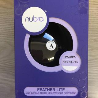 NuBra  パテッドヌーブラ ヌーブラ ブラック Aサイズ 米国製 最安値宣言(ヌーブラ)
