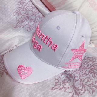 サマンサタバサ(Samantha Thavasa)のサマンサベガ♡新品♡ゴルフキャップ(キャップ)