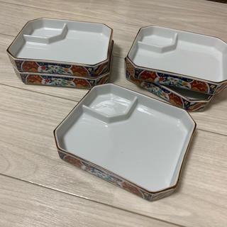 水野陶器 角皿 鳥絵(陶芸)