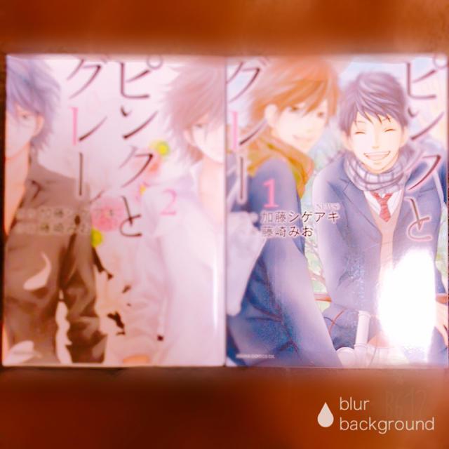 ピンクとグレー   2冊セット エンタメ/ホビーの漫画(少年漫画)の商品写真