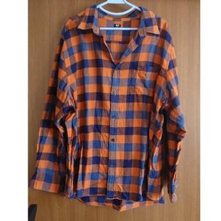 ユニクロ(UNIQLO)のユニクロ  メンズ4XL ネルシャツ(シャツ)