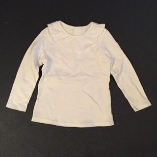 ユニクロ(UNIQLO)の白 シャツ(ブラウス)