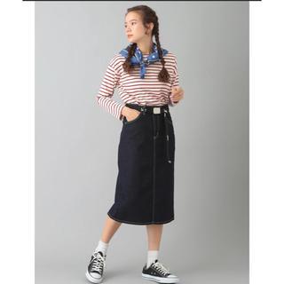 リー(Lee)のLee デニムタイトスカート(ひざ丈スカート)