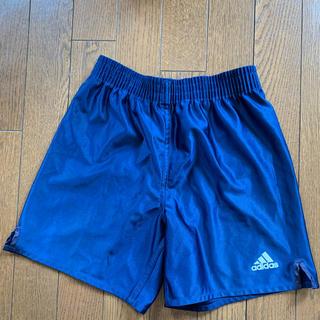 アディダス(adidas)の【Asahiiii☆様】adidas 140㎝ ブルー ゲームパンツ(ウェア)