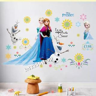 ディズニー(Disney)のアナと雪の女王 アナ雪 エルサ エルザ ウォールシール ステッカー(その他)