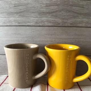 イッタラ(iittala)のスーホルムカフェ  マグカップ 二個セット(グラス/カップ)