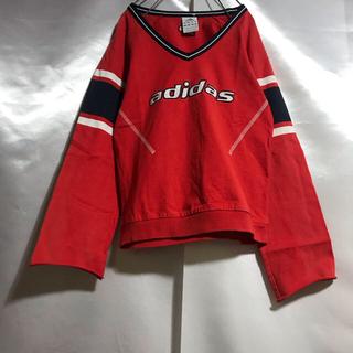 アディダス(adidas)のadidas ロングスリーブ スウェット トレーナー 90s 復刻チア (Tシャツ(長袖/七分))