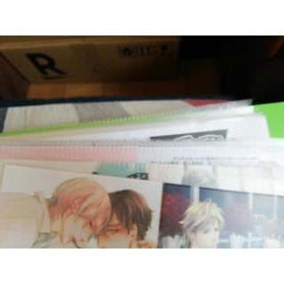 BL 特典 ペーパー さ行〜な行 コミック 漫画 ボーイズラブ(BL)