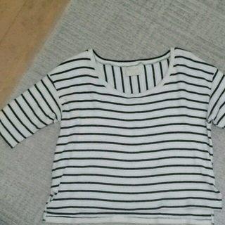 シェル(Cher)のボーダーロンT(Tシャツ(長袖/七分))