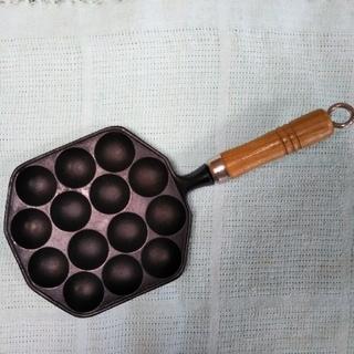 たこ焼き器 14穴 南部鉄器(たこ焼き機)