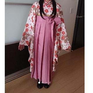 キャサリンコテージ(Catherine Cottage)のキャサリンコテージ 袴160cm+ブーツ24cm+ヘアーアイロンセット(和服/着物)