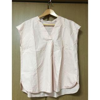 ジーユー(GU)の半袖ブラウス(シャツ/ブラウス(半袖/袖なし))