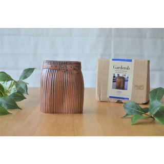 リサラーソン(Lisa Larson)の極希少●Rorstrand製●リサラーソン ワードローブ スカート 花瓶 ベース(花瓶)