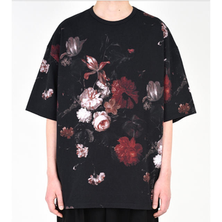 ラッドミュージシャン(LAD MUSICIAN)のlad musician 花柄 ラッドミュージシャン レッド(Tシャツ/カットソー(半袖/袖なし))