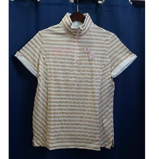 マンシングウェア(Munsingwear)の60%オフ☆マンシングウェア☆レディース半袖シャツLサイズ(XSL1542)(ウエア)