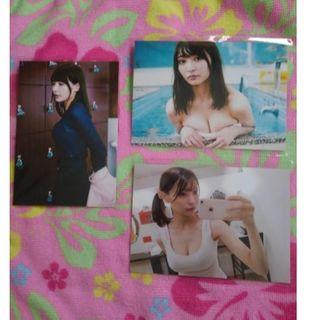 即決★貴重◎グラビア美少女アイドル似鳥沙也加生写真3枚セット(女性タレント)