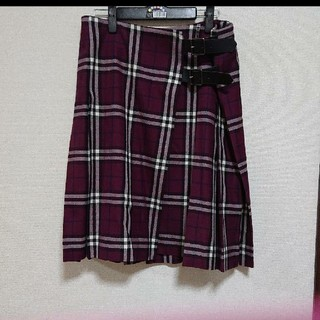 バーバリー(BURBERRY)のバーバリー ロンドン40号 巻きスカート(ひざ丈スカート)