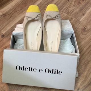 オデットエオディール(Odette e Odile)の【オデットエオディール】スクエアフラットシューズ(ハイヒール/パンプス)