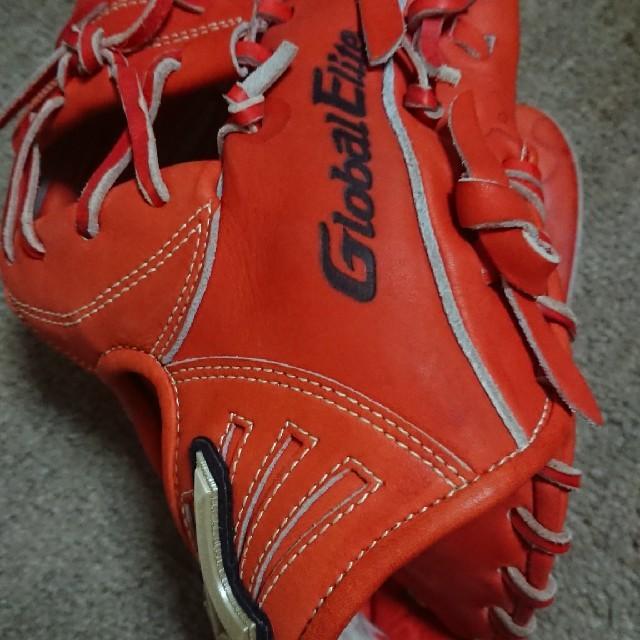 MIZUNO(ミズノ)のミズノグローバルエリートQMライン スポーツ/アウトドアの野球(グローブ)の商品写真