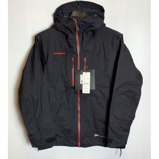 マムート(Mammut)の希少◆新品◆正規品◆ マムート スノートリック ジャケット ブラック S(マウンテンパーカー)