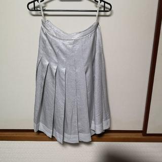 バーバリー(BURBERRY)の日本正規品 Burberry(バーバリー) ロンドン プリーツスカート 36(ひざ丈スカート)